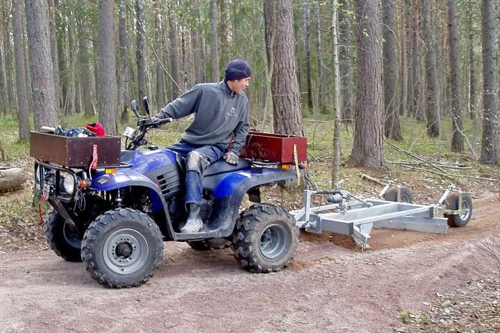 VSS FOR ATV OG FIREHJULING